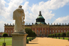 New Palace in the Park Sanssouci Royalty Free Stock Images