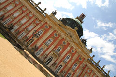New Palace in the Park Sanssouci Stock Image