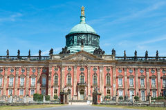 New palace - part of the University of Potsdam campus Stock Photo