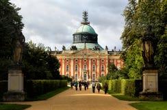 New Palace in Sanssouci Park, Potsdam, Stock Image