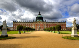 New Palace in Sanssouci Park, Potsdam, Royalty Free Stock Photography