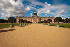 New palace in Sanssouci park. Potsdam Stock Photo