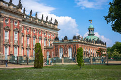 New Palace in Sanssouci Park in Potsdam Royalty Free Stock Images