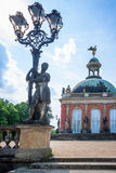New Palace in Sanssouci Park in Potsdam Stock Photo