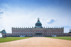 New Palace in Sanssouci Park in Potsdam Royalty Free Stock Photography