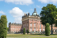 New Palace in Sanssouci Park, Potsdam, Germany Royalty Free Stock Photos