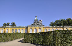 New Palace from Sanssouci in Potsdam Germany stock photos