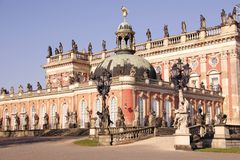 New palace in the sanssouci royal p Stock Image
