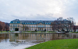 New Palace in Stuttgart Stock Images