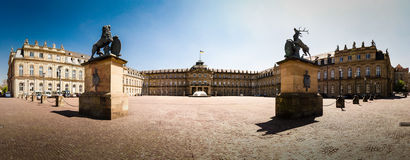 New palace Stuttgart. Palace in the center of Stuttgart, Germany Royalty Free Stock Photo