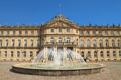 The New Palace, in Stuttgart ,Germany Stock Photo