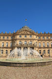 The New Palace, in Stuttgart ,Germany Stock Image