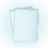 New paper Royalty Free Stock Photos