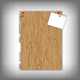 New paper pad with texture Stock Images