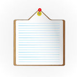 New paper sheet Royalty Free Stock Images