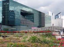 The new Paris district - La Defense. Concrete and glass Stock Image