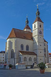 New Parish Church (Neupfarrkirche), Regensburg, Germany Stock Photography