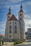 New Parish Church (Neupfarrkirche), Regensburg, Germany Royalty Free Stock Image