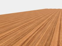 New parquet of brown color Stock Image