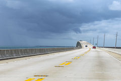 New part of the seven miles bridge Royalty Free Stock Photos