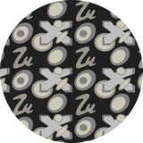 New pattern. In gray tones royalty free illustration