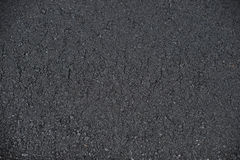 New paved road surface asphalt background Royalty Free Stock Images