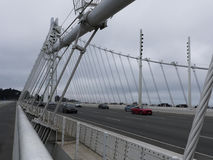 New pedestrian access to Bay Bridge Oakland side Stock Photography