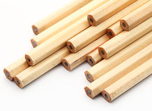 New pencil. Isolated on white background royalty free stock photography