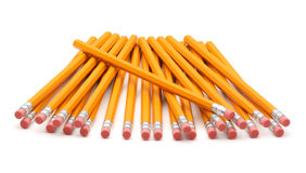 New Pencils. On white background Stock Image