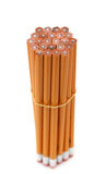 New Pencils. A bunch of pencils pointing up Royalty Free Stock Images