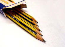 New Pencils Royalty Free Stock Photos