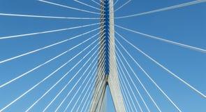 New Pepa bridge in Cadiz, Andalusia, Spain Stock Images