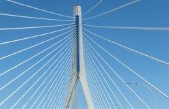 New Pepa bridge in Cadiz, Andalusia, Spain Royalty Free Stock Photos