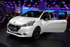 The new Peugeot 208 GTI Royalty Free Stock Photo