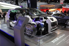 New Peugeot 3008 Hybrid4 Diesel Hybrid Stock Photography