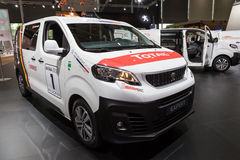 New Peugeot Expert Van Royalty Free Stock Image