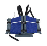 New PFD. A new personal flotation device on a white background Royalty Free Stock Images