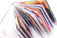 New photo books stack Royalty Free Stock Image