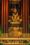 The new Phra Kaew Marakot image, named Phra Yok Chiang Rai. Royalty Free Stock Photo