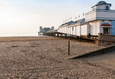 Pier at Weston Super Mare Royalty Free Stock Photography