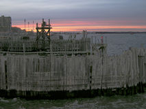 new pier york στοκ φωτογραφία με δικαίωμα ελεύθερης χρήσης
