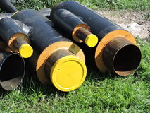New pipes Royalty Free Stock Photography