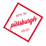 New In Pittsburgh rubber stamp Royalty Free Stock Photos