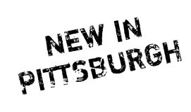 New In Pittsburgh rubber stamp Stock Images