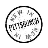 New In Pittsburgh rubber stamp Royalty Free Stock Image