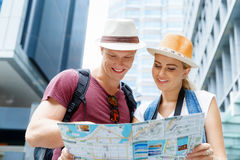 New places to explore Stock Photo