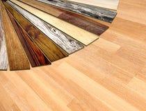 New planks of oak parquet Stock Image
