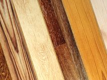 New planks of parquet royalty free stock image