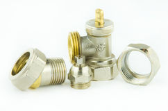 New plumbing elements Stock Image
