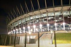 New Polish national stadium - Euro 2012 Royalty Free Stock Images